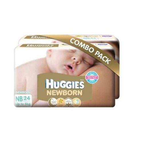 Huggies New Born Diapers Combo Pack
