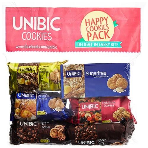 Unibic Assorted Cookies - Pk of 6
