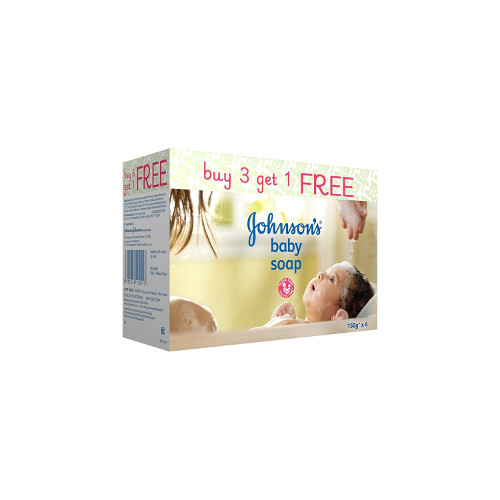 Johnson's Baby Soap (Buy 3 Get 1 Free)