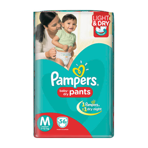 Pampers Medium Size Diaper Pants