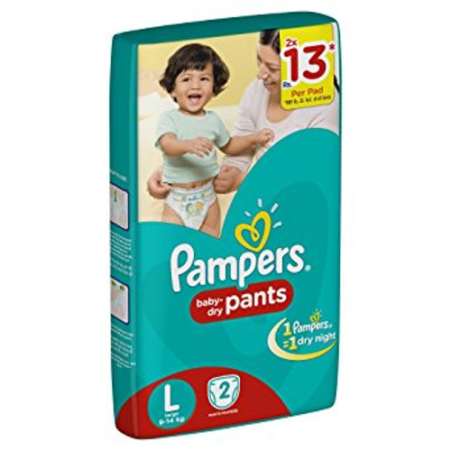 Pampers Large Size Diaper Pants