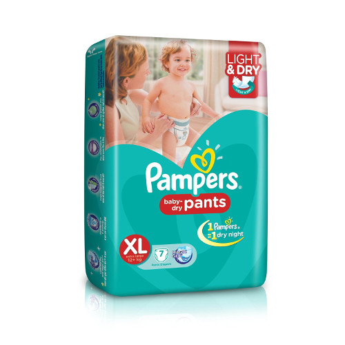 Pampers Extra Large Size Diaper Pants