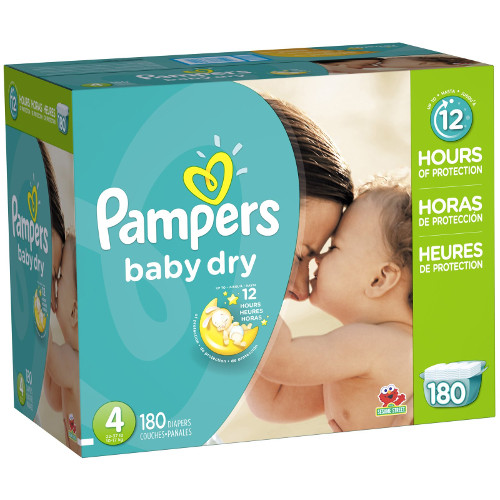 Pampers Small Size Baby Dry Diaper Pants