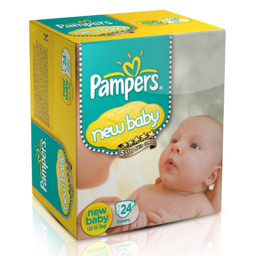 Pampers New Born Baby Diaper Pants