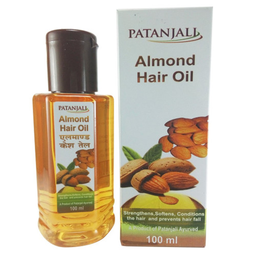 Patanjali Almond Hair Oil