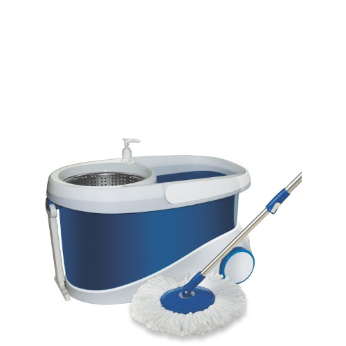 Gala Jet Spin Mop with Stainless Steel Wringer + 2 Refills