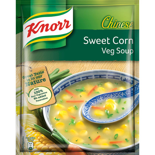 Knorr Chinese Sweet Corn Veg Soup