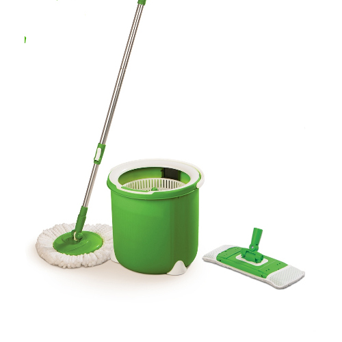 Scotch-Brite Jumper Single Bucket Flr Spin Mop with 2 Refill