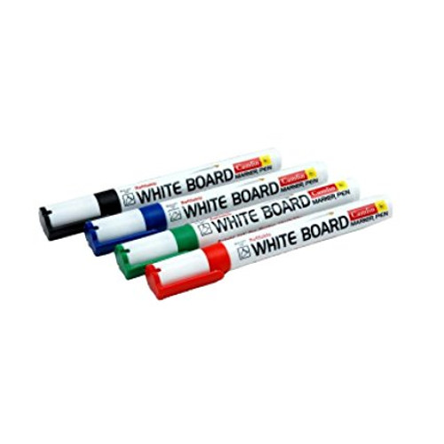 Camlin PB White Board Marker - Pack of 4 Assorted Colors
