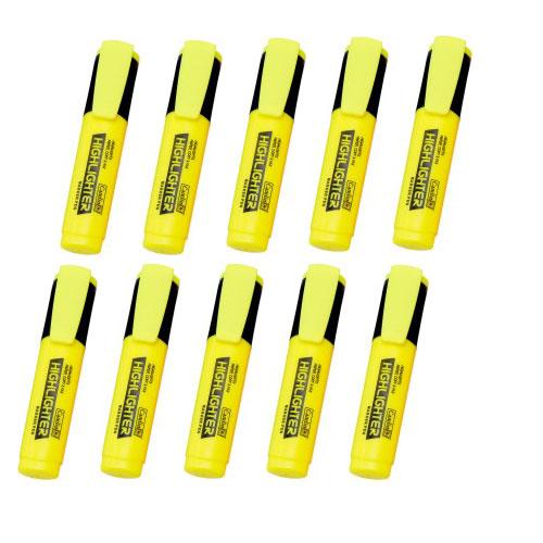 Camlin Office Highlighter Pen, Yellow