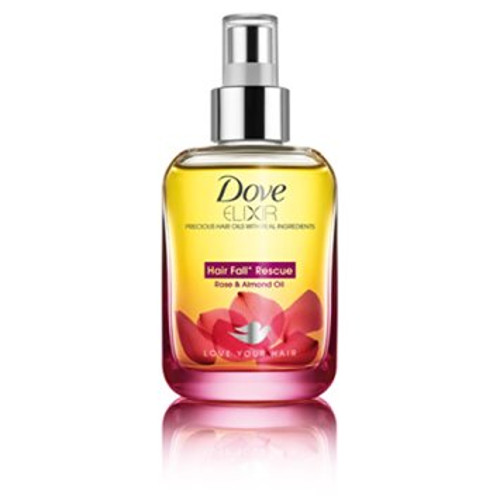 Dove Elixir Hair Fall Rescue Rose & Almond Hair Oil