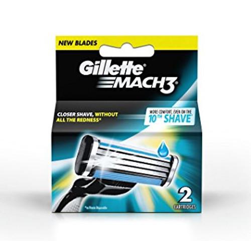 Gillette Mach 3 Manual Shaving Razor Blades