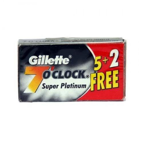 Gillette 7 O'Clock Super Platinum Blades