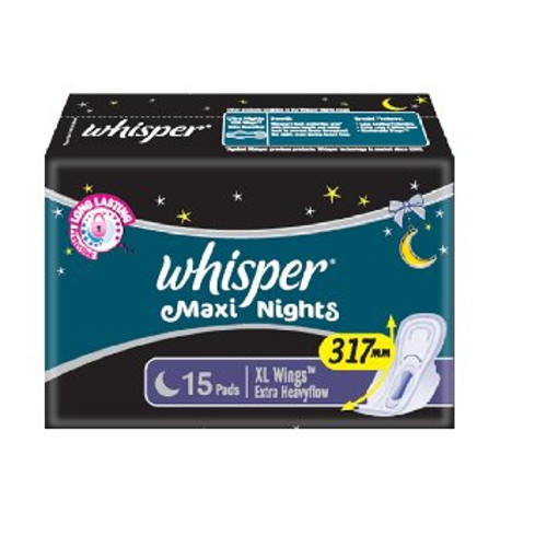 Whisper Maxi Nights - XL Wings