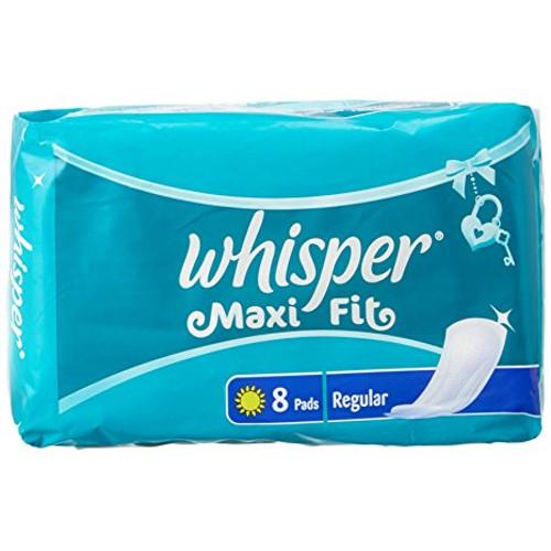 Whisper Maxi Fit Sanitary Pads - Regular