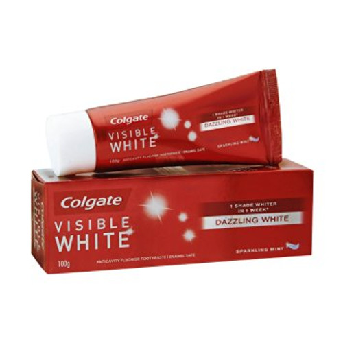 Colgate Toothpaste Visible White Sparkling Mint - Whitening