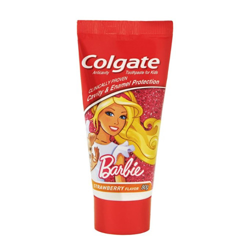 Colgate Toothpaste Kids Barbie Strawberry Flavor