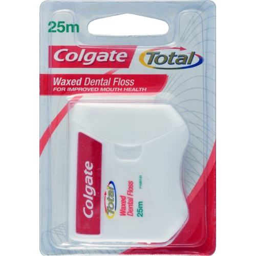 Colgate Waxed Dental Floss - 25 m