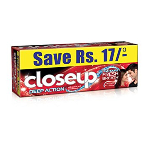 Closeup Fresh Red Hot Toothpaste Value Saver Pack