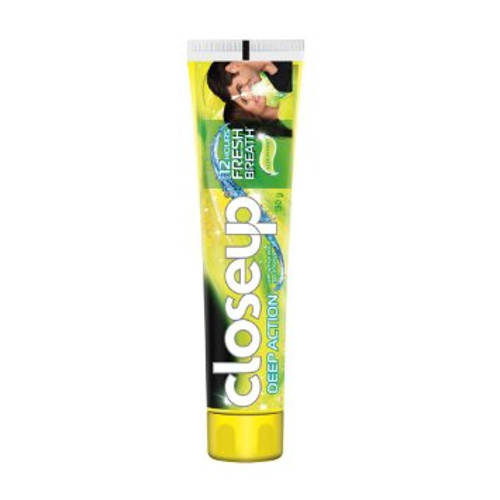 Closeup Deep Action Lemon Mint Gel Toothpaste