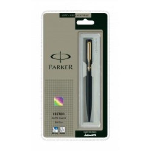 Parker Vector Ball Pen, Matte Black