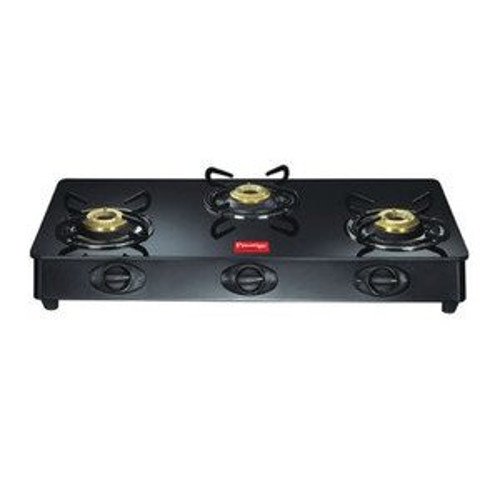 Prestige Royale 3 Brass Burners GT 03 L.P Gas Table