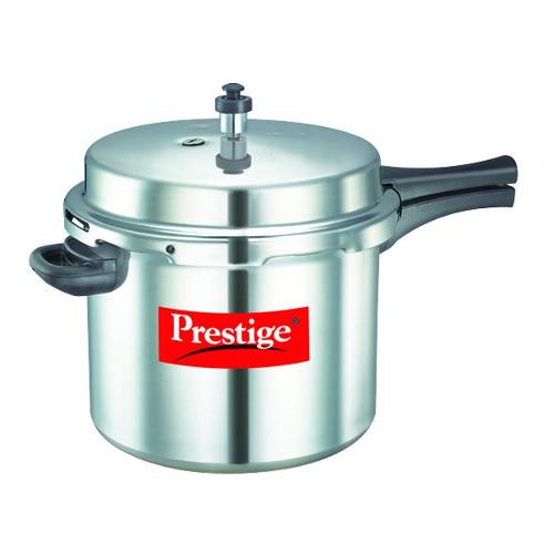 Prestige Popular Aluminium Pressure Cooker - 10L