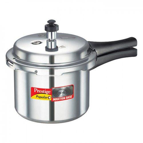 Prestige Popular Plus Induction Base Pressure Cooker - 3L