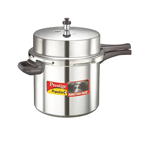 Prestige Popular Plus Induction Base Pressure Cooker - 10L