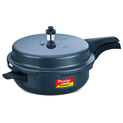 Prestige Dlx+ Sr. Induction Base Hard Anodized Cooker -5.4L