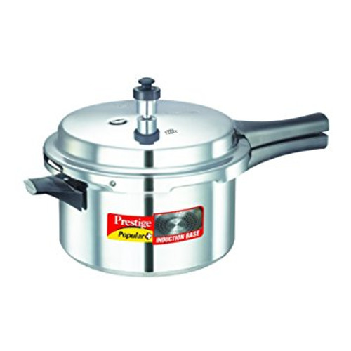 Prestige Popular Plus Induction Base Pressure Cooker -4L