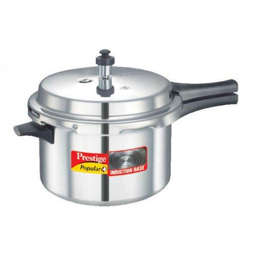 Prestige Popular+ Induction Base Pressure Cooker -5.5L