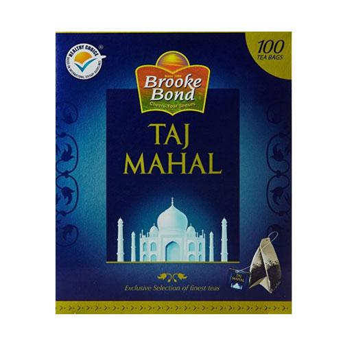 Brooke Bond Taj Mahal Tea Bags - 100 pieces