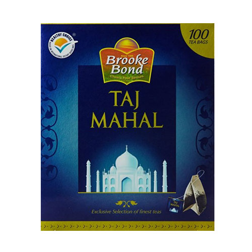 Brooke Bond Taj Mahal Tea Bags - 100 pieces