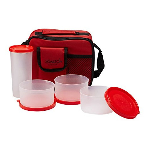 Milton Meal Combi Lunch Box Set - Red