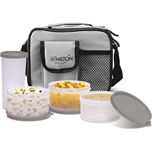 Milton Meal Combi Lunch Box Set - Grey