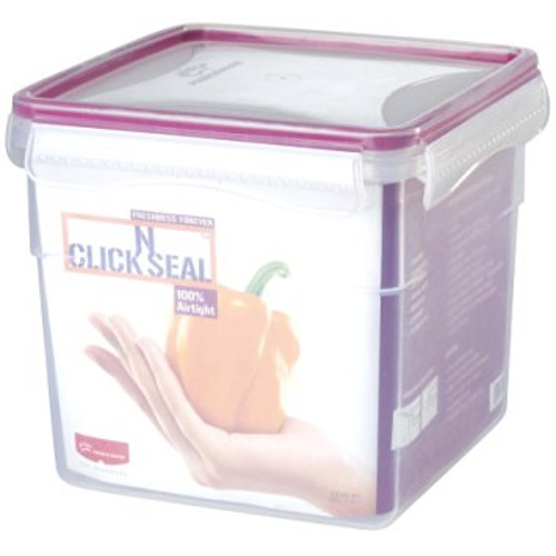 Princeware Click N Seal Tall Container - Violet