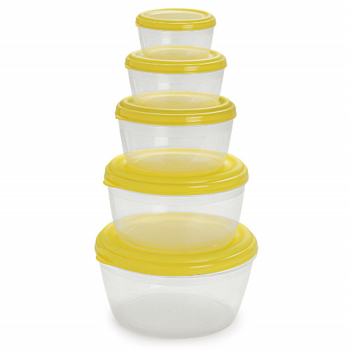 Cello Fabby Container Set - (Set of 5) - Pearl