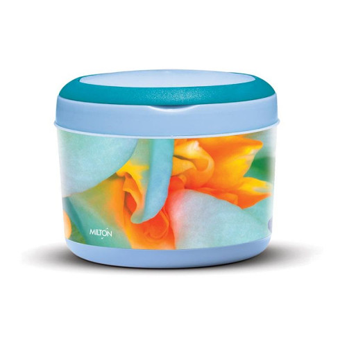 Milton Big Bite Lunch Box - Light Blue