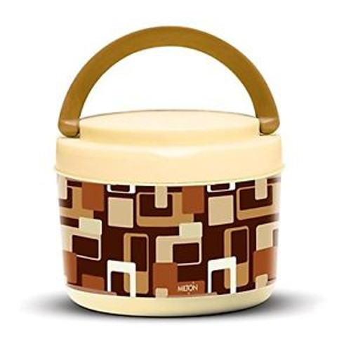 Milton Big Bite Lunch Box - Brown