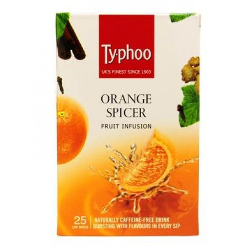 Typhoo Orange Spicer Fruit Infusion Tea