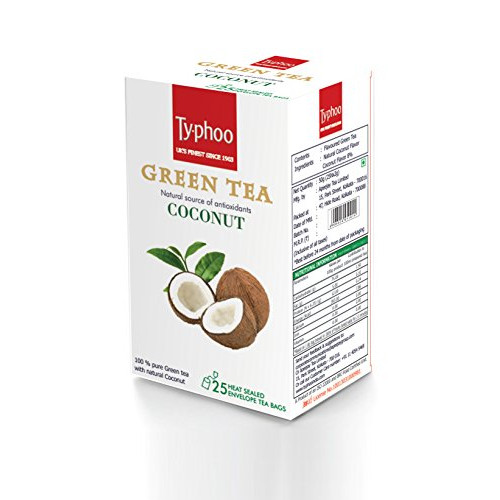 Typhoo Green Tea, Coconut 50g