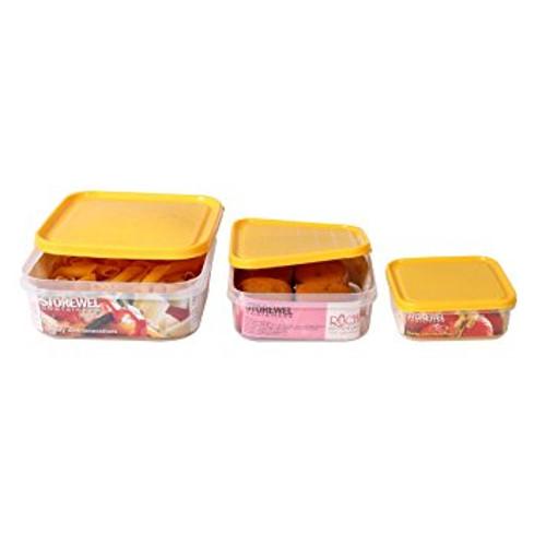 Ruchi Storewel - 3 Pieces - Yellow