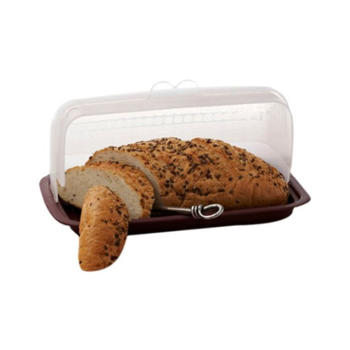 Signoraware Big Bread Box - Maroon