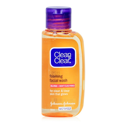 Clean & Clear Foamng Facial Wash