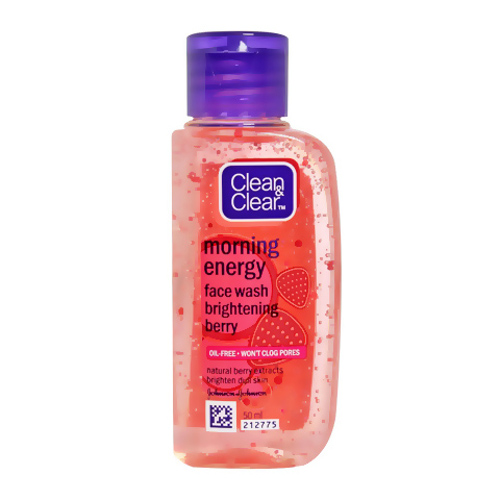 Clean & Clear Morning Energy Berry Face Wash